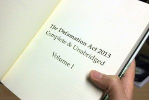 defamation solicitors